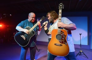SXSW: Jack Black and Kyle Gass of Tenacious D at Brazos Hall
