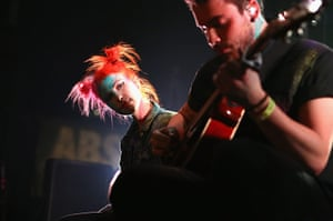 SXSW: Hayley Williams and Taylor York of Paramore