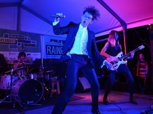 SXSW: Willy Moon performs at the Filter Magazine Showcase