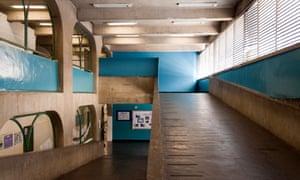 interior image of a CIEP school