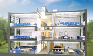 what one of the new standardised schools could look like