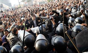 riot police tahrir