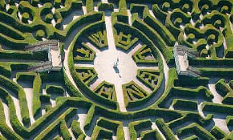 Hedge maze at Blenheim Palace