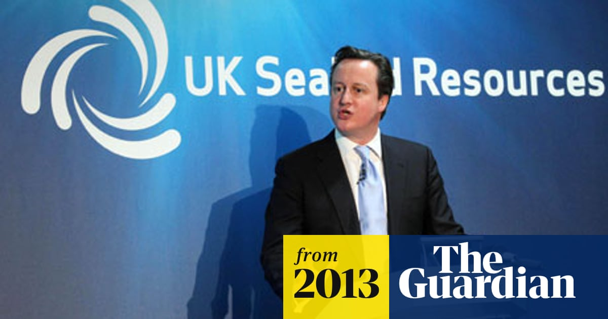 David Cameron says seabed mining could be worth £40bn to