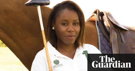 The black female polo player changing perceptions in for Polo shirt girl addiction