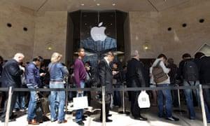 Apple store, Paris 28/5/10