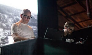 Lustmord and MFO on stage at Unsound