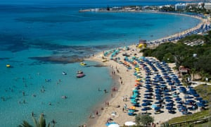 Ayia Napa beach, Cyprus.
