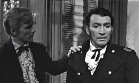 Graydon Gould and Peter Wyngarde in the ITV drama South