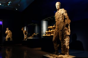 Antikythera shipwreck:  Hermes statue. The ''Antikythera Shipwreck'' exhibition