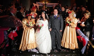 The Comic Relief wedding of Ben Springett and Claire Gilchrist