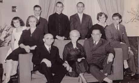 Pope Francis family photo