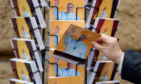 Pope Francis postcards