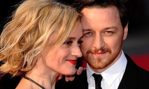 Anne-Marie Duff and husband James McAvoy