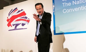 David Cameron at the Conservative party spring forum