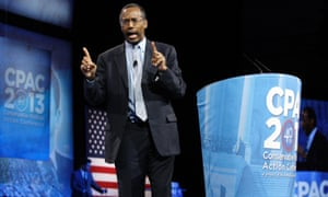 Dr. Ben Carson, director of pediatric neurosurgery at Johns Hopkins hospital, rises to new levels of conservative stardom with his CPAC speech.