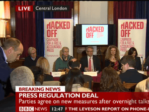 Hacked Off press conference