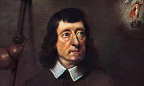 John Milton, portrait