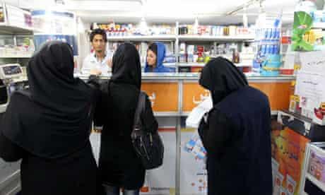 Iran sanctions pharmacy