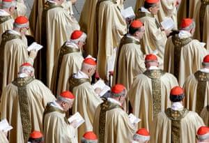 Inaugural Mass: Cardinals attend Pope Francis' inaugural Mass