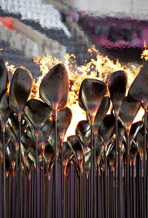 Designs of the Year: OLYMPIC CAULDRON - Heatherwick Studio
