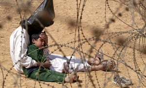An Iraqi prisoner of war