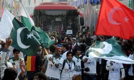 Metro Bus in Lahore