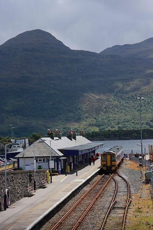 Railways: Kyle of Lochalsh railway station, Scotland