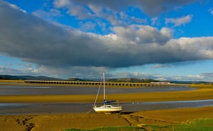 Railways: Kent Estuary at Arnside, Cumbria