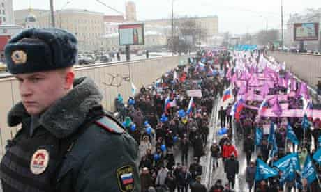 Moscow adoption march