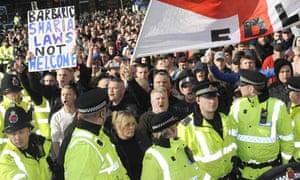 EDL National Demonstration, Manchester