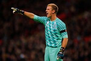 England kits: Joe Hart