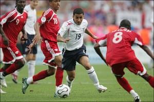 England kits: Aaron Lennon