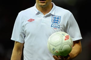 England kits: Steven Gerrard