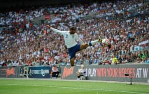 England kits: Ashley Cole