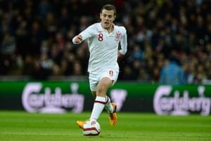 England kits: Jack Wilshere