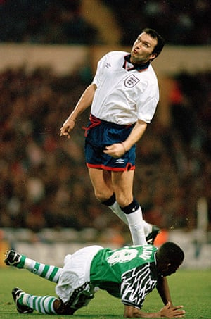 England kits: Neil Ruddock