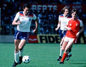 England kits: Trevor Brooking