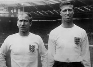 England kits: Bobby And Jack Charlton