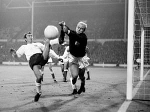 England kits: Jimmy Greaves