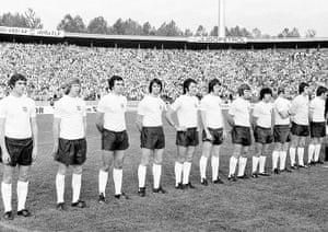 England kits: Yugoslavia v England