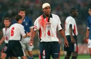 England kits: Paul Ince