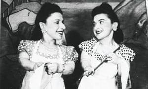 Perla and Elizabeth Ovitz