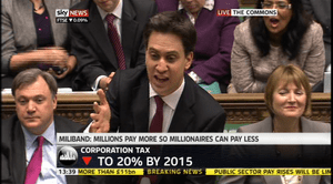 Ed Miliband responding to the Budget, March 2013
