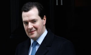 Britain's Chancellor of the Exchequor George Osborne leaves Downing Street in London