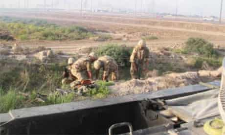 Soldiers pictured in 2004