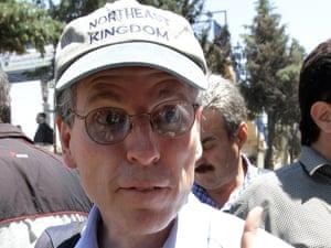 Robert Ford, US ambassador to Syria.