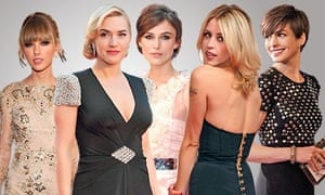 Taylor Swift, Kate Winslet, Keira Knightley, Peaches Geldof and Anne Hathaway