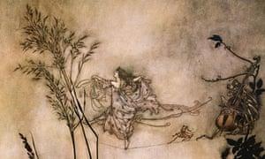 The Fairies are Exquisite Dancers, by Arthur Rackham