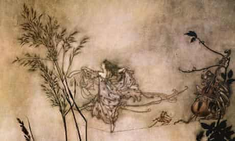 The Fairies are Exquisite Dancers, by Arthur Rackham